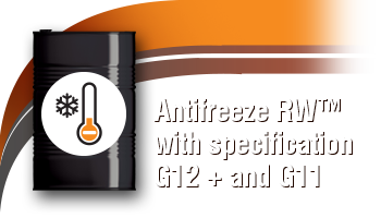 Antifreeze RW™ with specification G12 + and G11