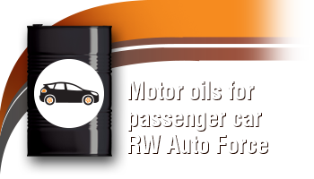 Motor Oils for Gasoline Engines: RW Auto Force